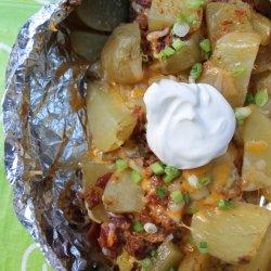 Loaded Campfire Potatoes