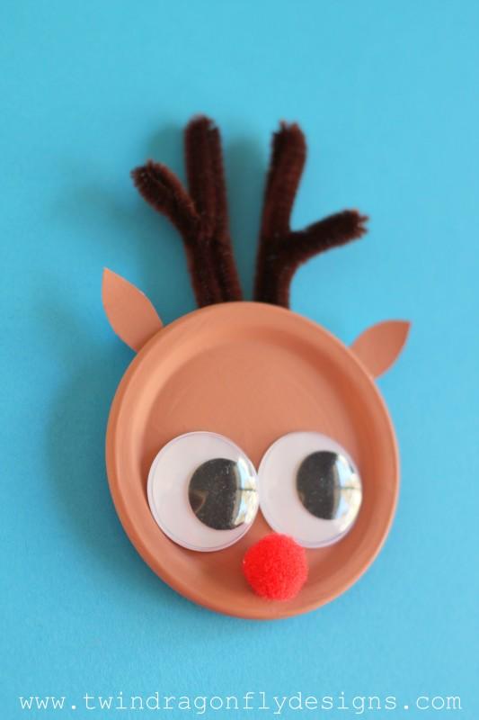 Reindeer Magnet Craft