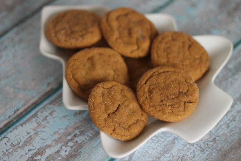 Chewy Ginger Snap Cookie Recipe