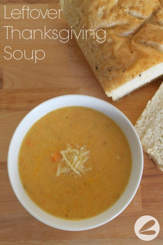 Leftover Thanksgiving Soup