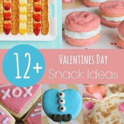 12+ Valentines Day Snack Ideas