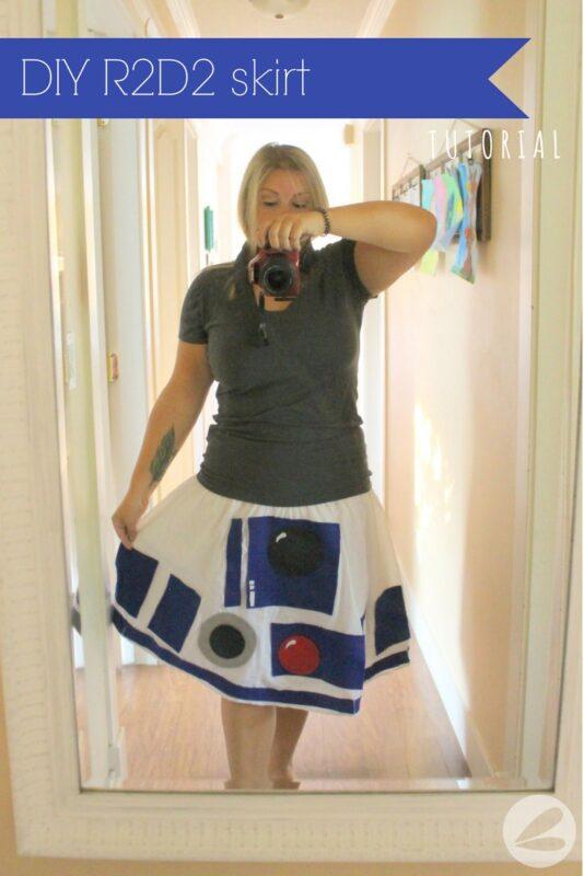 DIY R2D2 Skirt Tutorial