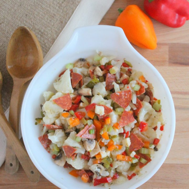 Italian Cauliflower Salad