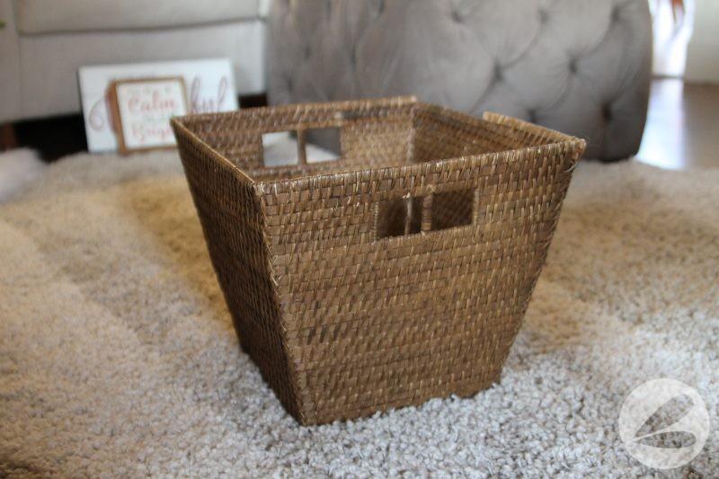 brown weaved basket