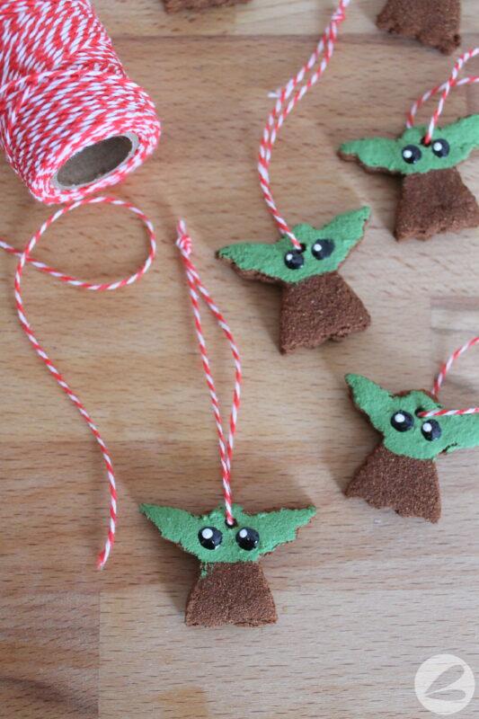 cinnamon baby yoda ornament