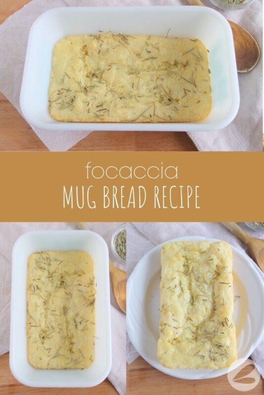 focaccia mug bread