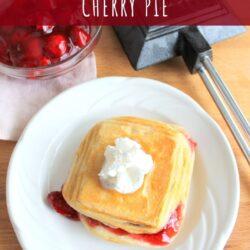 camp cooker cherry pie recipe