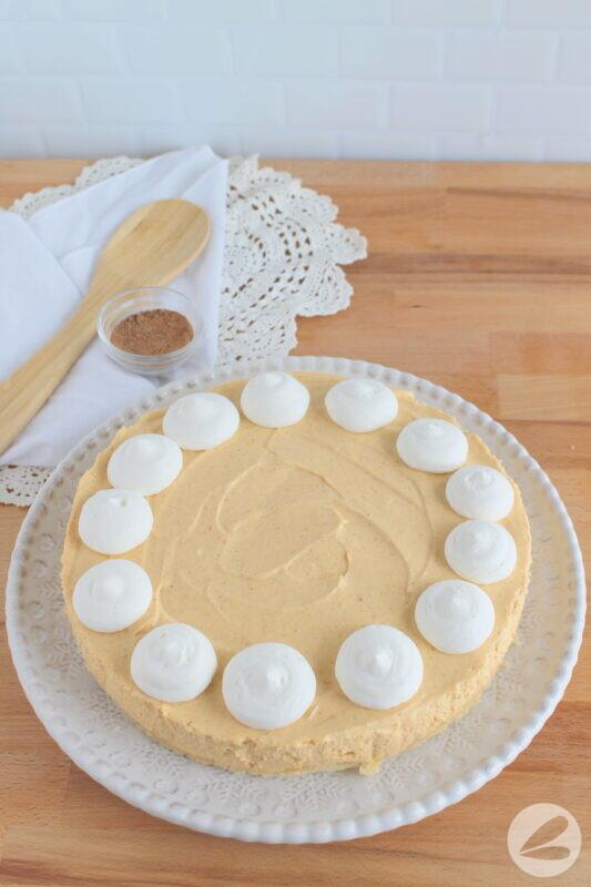 keto pumpkin pie cheesecake