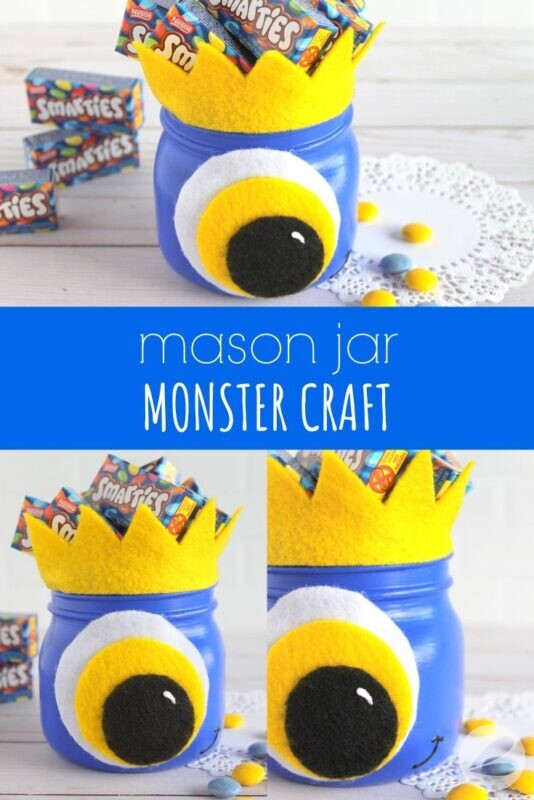 Mason Jar Monster Craft