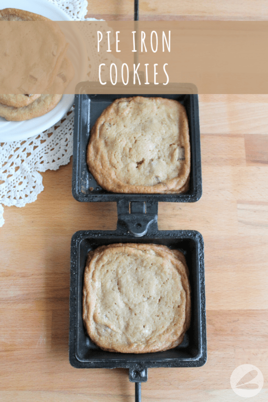 pie iron cookie recipe