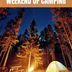 how to pack for a weekend of camping