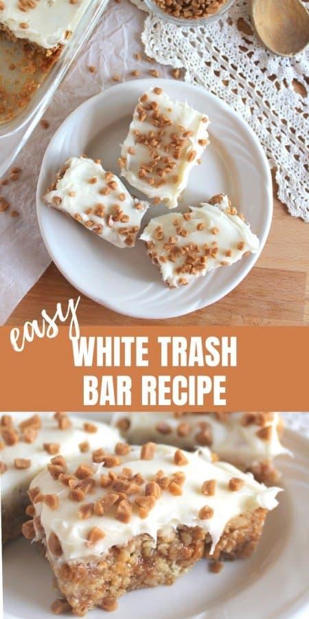 White Trash Skor Bar Recipe