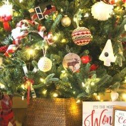 DIY Christmas Tree Collar
