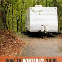 how to winterize your travel trailer