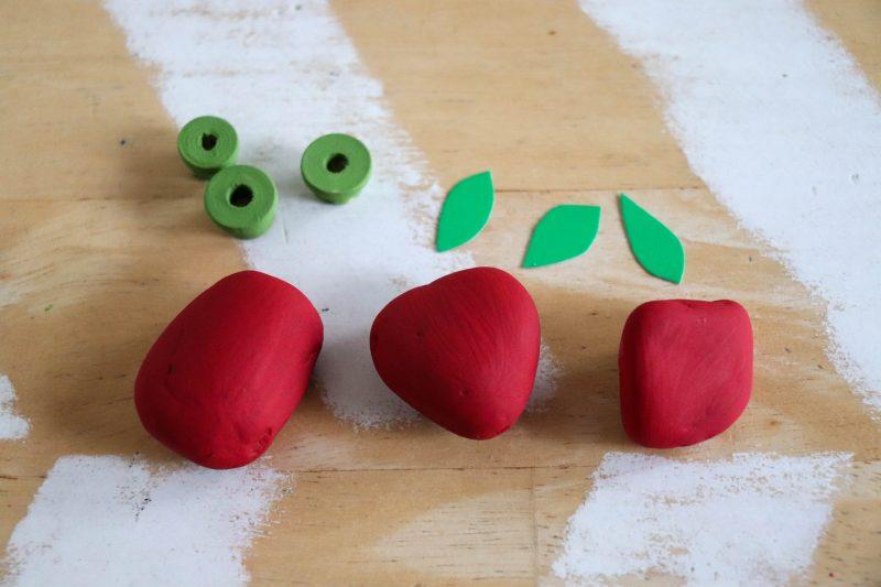 apple rock craft