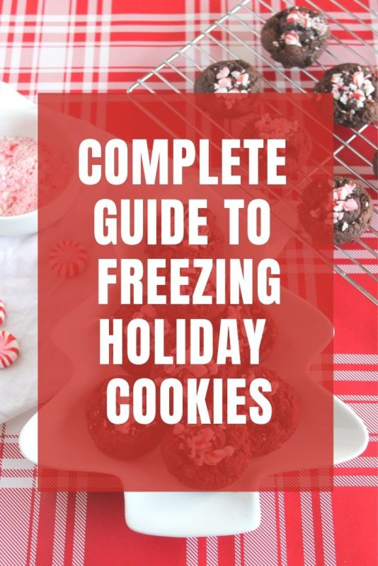 complete guide to freezing holiday cookies
