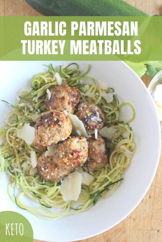 garlic parmesan turkey meatballs recipe