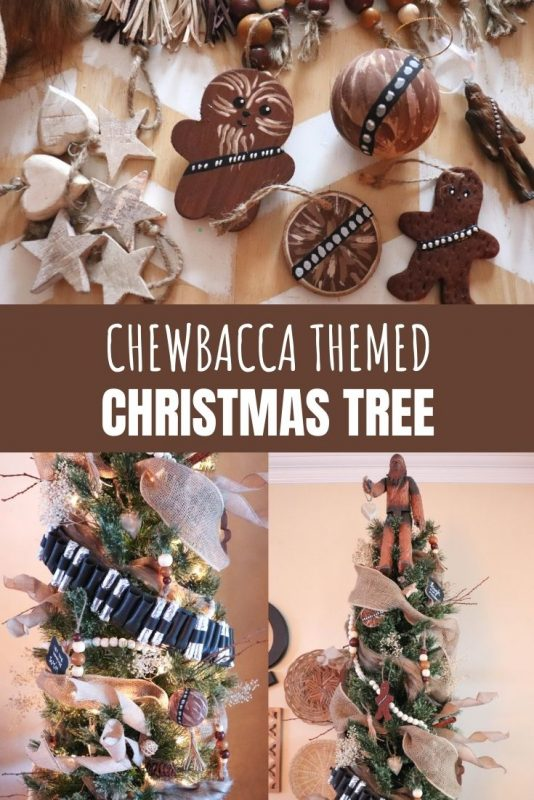 Star Wars Chewbacca themed Christmas tree