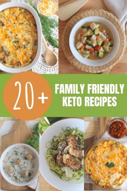 family friendly keto recipes