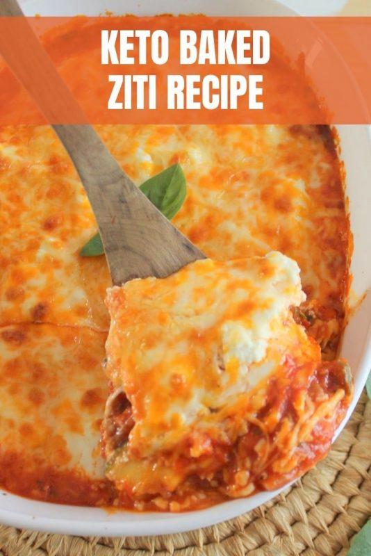 keto baked ziti recipe