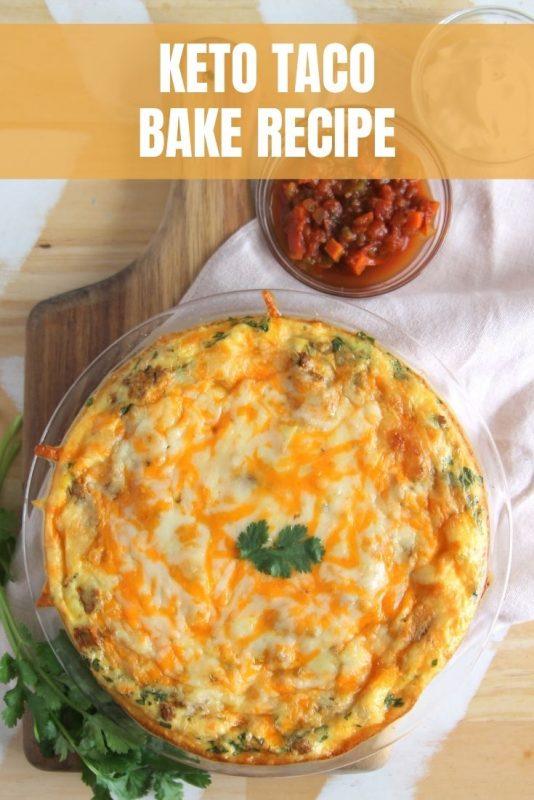 keto taco bake recipe