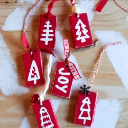 scrap wood ornaments