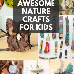 awesome nature crafts for kids