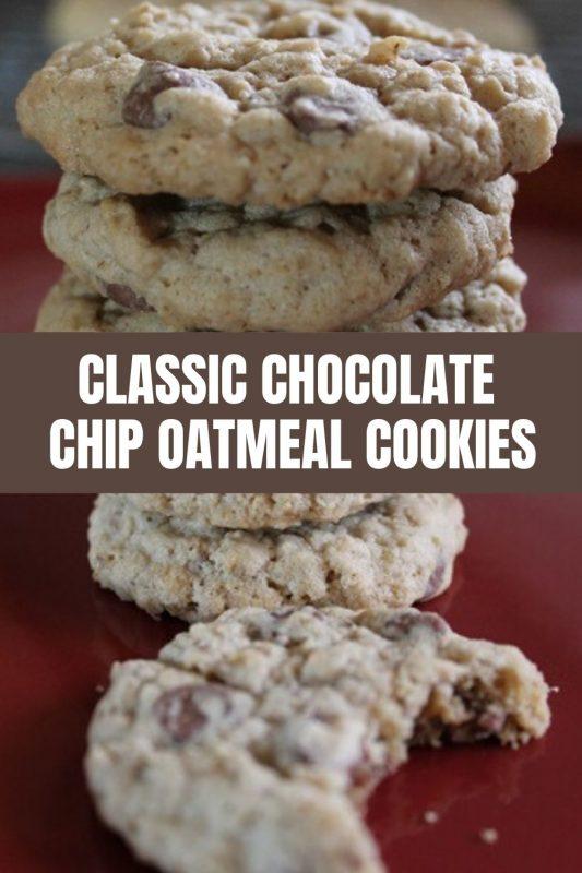 chocolate chip oatmeal cookie recipe