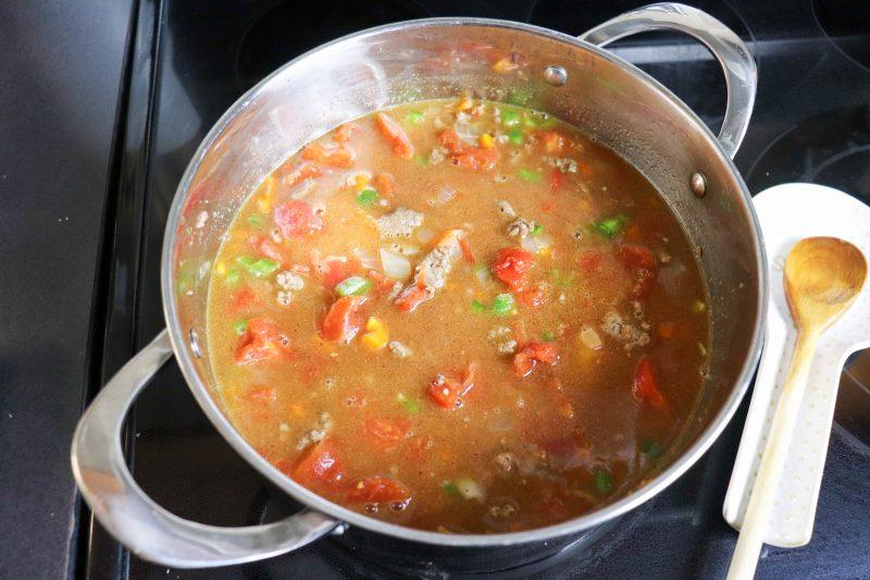 keto taco soup recipe