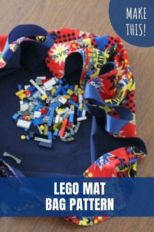 lego mat bag pattern