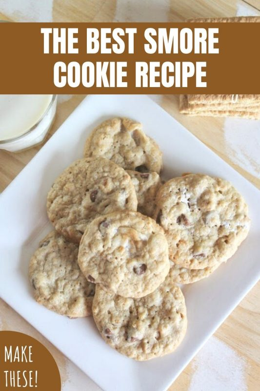 the best smore cookie recipe