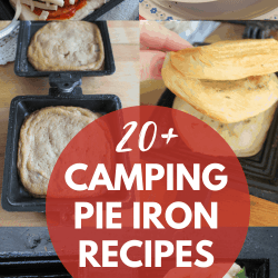 camping pie iron recipes