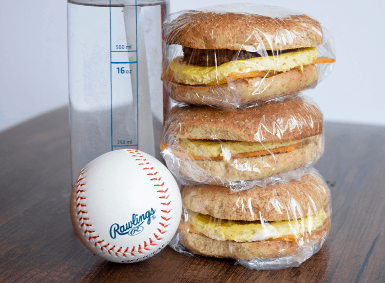 how to freeze homemade breakfast sandwiches
