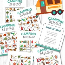 camping bingo printables