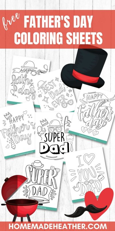fathers day printable coloring sheets