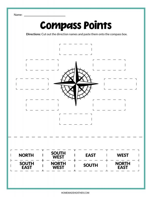 compass printables