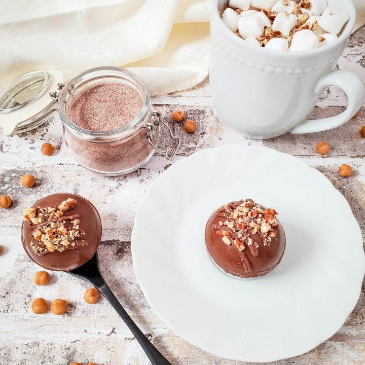 turtle hot chocolate bomb recipe