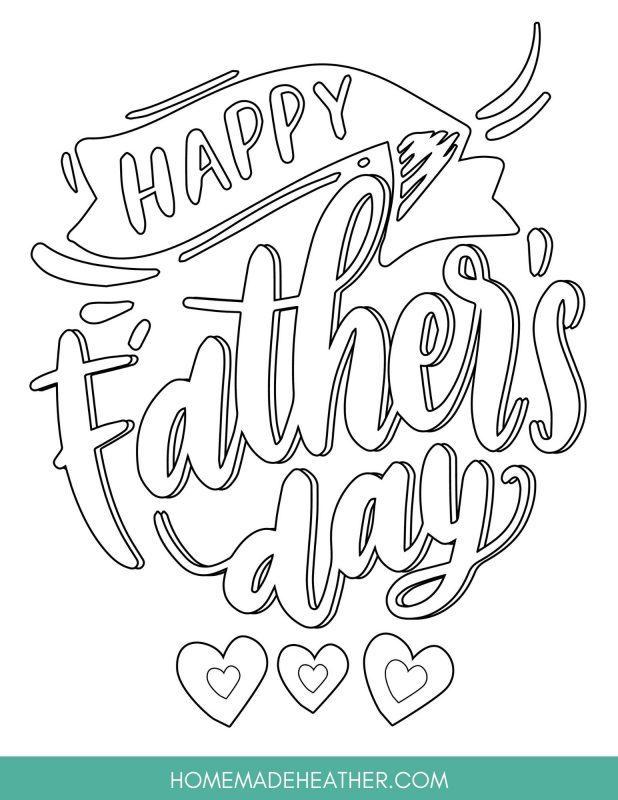 Fathers Day Printable