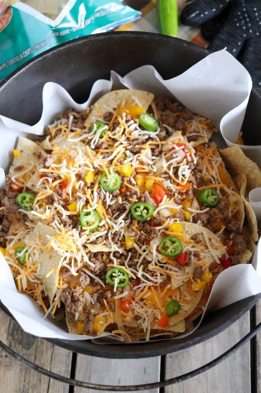 dutch oven nacho recipe