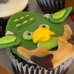 star wars angry bird cupcakes