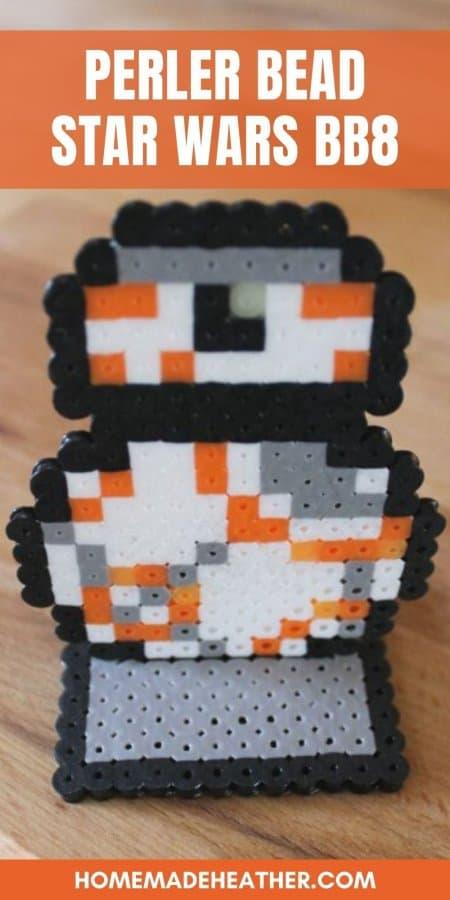 Perler Bead Star Wars BB8