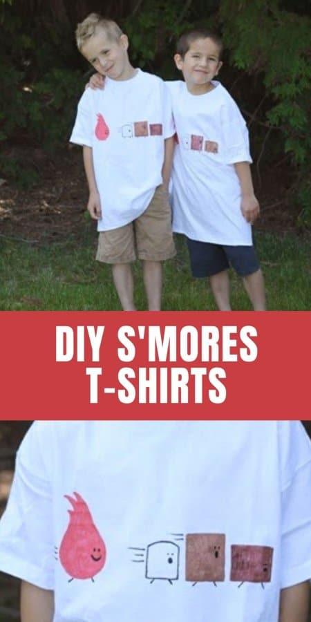 DIY S'more T-shirt