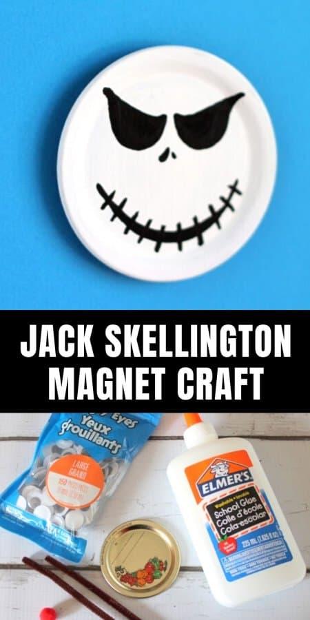 Jack Skellington Magnet Craft