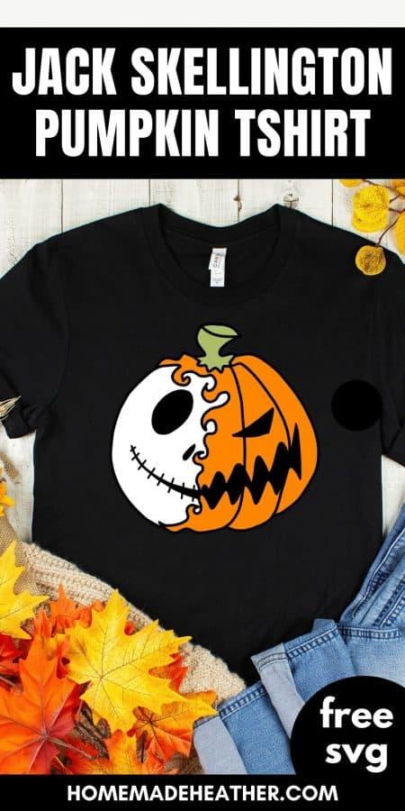 Jack Skellington T-shirt SVG