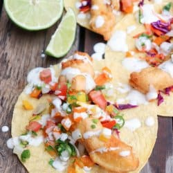 Halibut Fish Taco