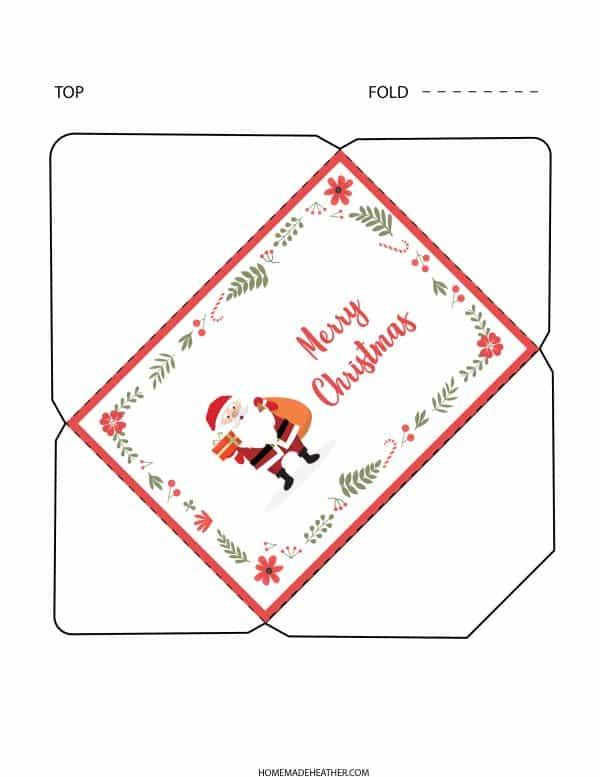 Letter to Santa Printable Envelope