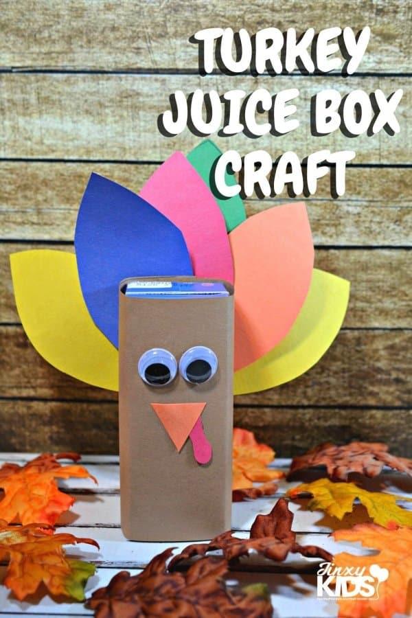 Turkey Juice Box Craft