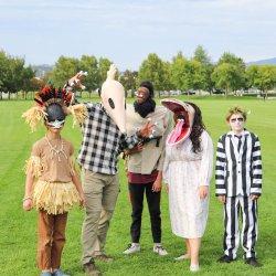 Family Beetlejuice DIY Costume Tutorial Process