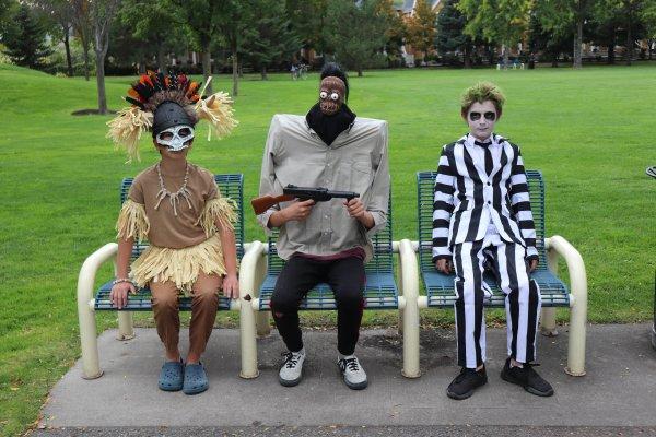 DIY Family Beetlejuice Costume