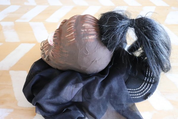 Shrunken Head Costume Process